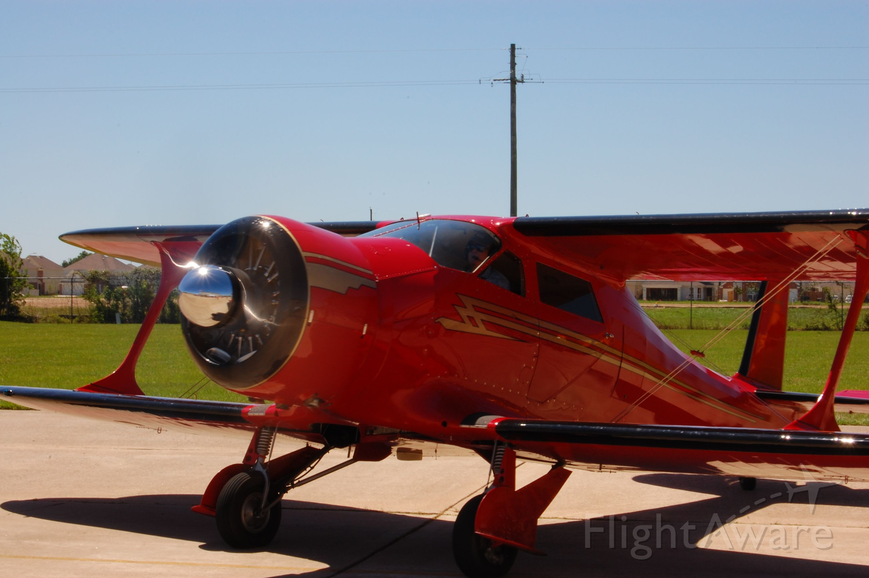 NC666TX — - Beech Staggerwing