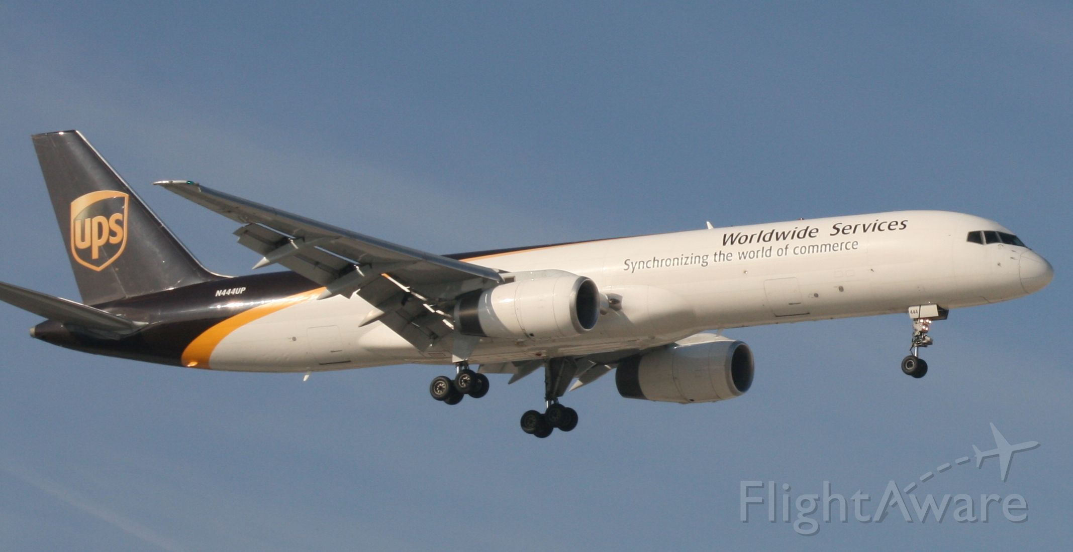 Boeing 757-200 (N444UP) - UPS 35L 3/13/11
