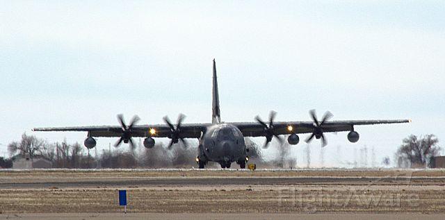 "Lockheed C-130 Hercules (12-5775) - MC-130J Commando II.. Callsign ""Stalk 61"" from KIrtland AFB doing options at KROW"