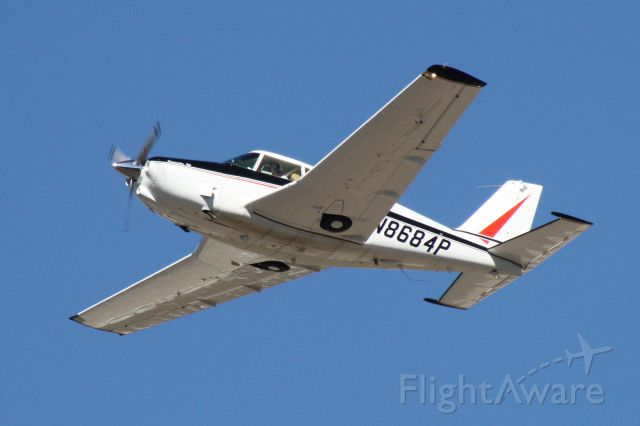 Piper PA-24 Comanche (N8684P) - Climbing out of Flagstaff Pulliam Airport, November 2 2018.