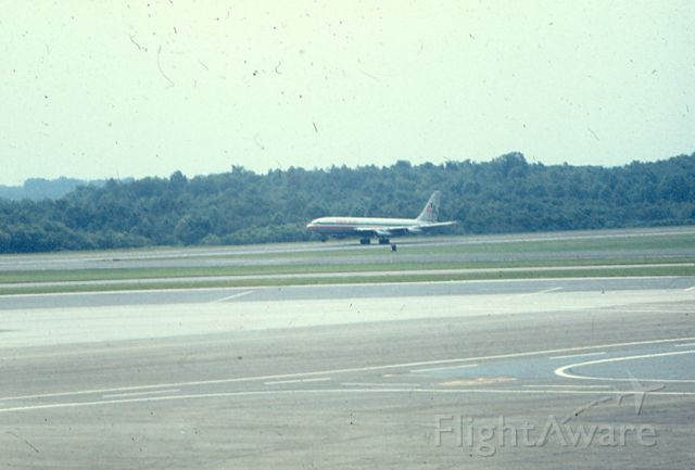 Boeing 707-100 — - AA 707 lifts off runway 10 at KBWI.  Circa 1968-70