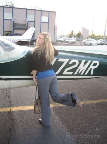 Cessna Skyhawk (N172MR) - My beautiful plane and wife. Ashley.