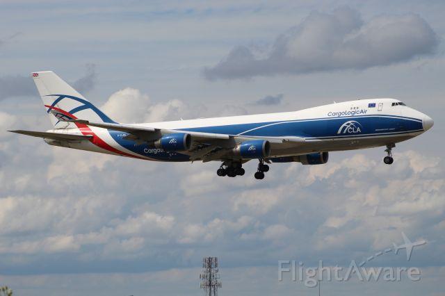 Boeing 747-400 (G-CLAA) - CLU5928 from New York (JFK) on 7/31/20. Landing on runway 10C.