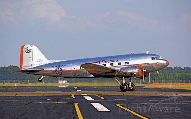 Douglas DC-3 (NAC17334) - Restored American Airlines DC-3 at KLBT Mid Atlantic May 2007