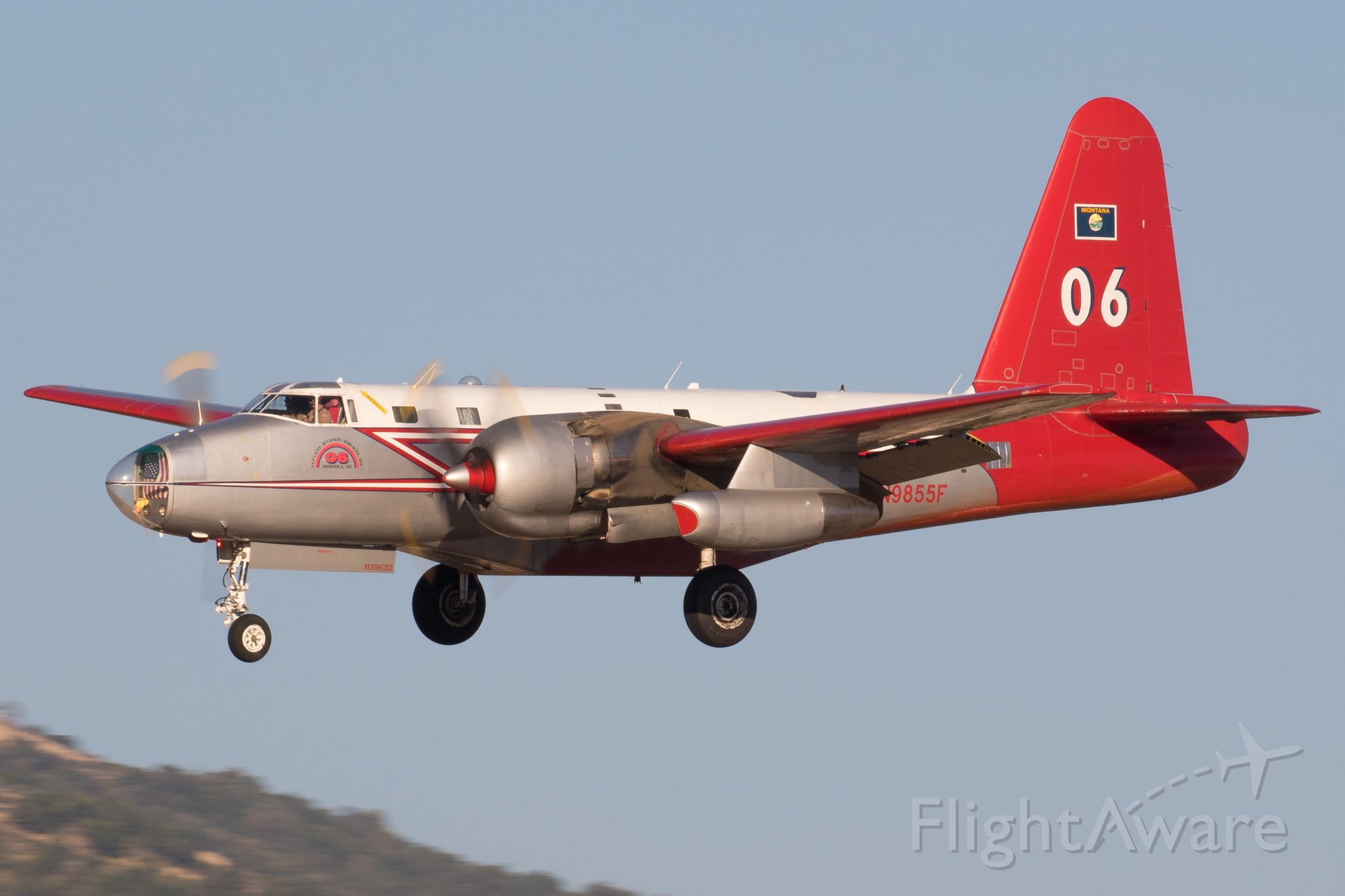 Lockheed P-2 Neptune (N9855F)
