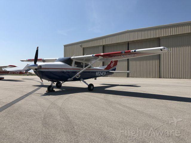Cessna Skylane (N524CP) - 2018 Cessna 182T of the Civil Air Patrol, Kansas Wing, at New Century Air Center (KIXD) on Saturday, September 7, 2019.