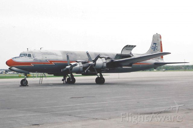 Douglas DC-7 (N381AA)
