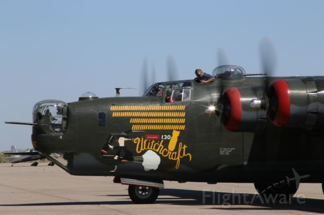 Consolidated B-24 Liberator (N224J) - Collings Foundation Consolidated Liberator B-24J, Witchcraft, on 18 April 2015.