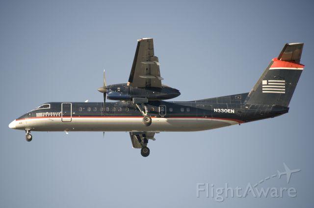 de Havilland Dash 8-100 (N330EN) - Seen at KBWI on 10/15/2011