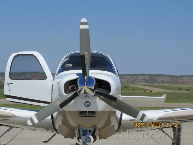 Beechcraft Bonanza (36) (N22GH) - At Borger TX