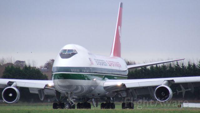 Boeing 747-200 (N470EV) - SUPERTANKER IN SHANNON