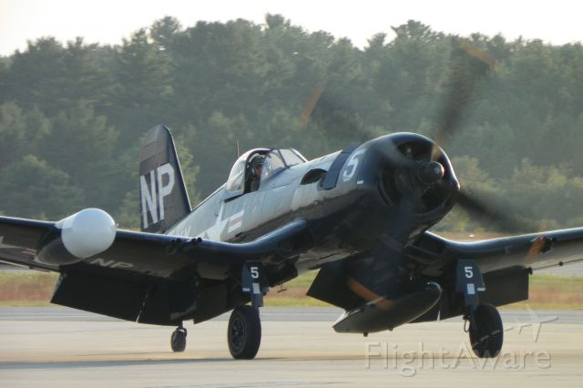N45NL — - Arriving for the Great State of Maine Airshow 2012.  Owned by the Collins Foundation.