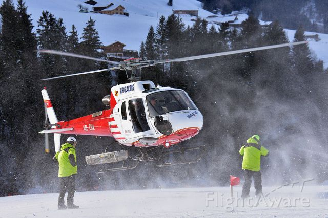 HB-ZNA — - AS.350B3 Ecureuil during flights outside Château-dOex (Switzerland). And yes, it is cold...