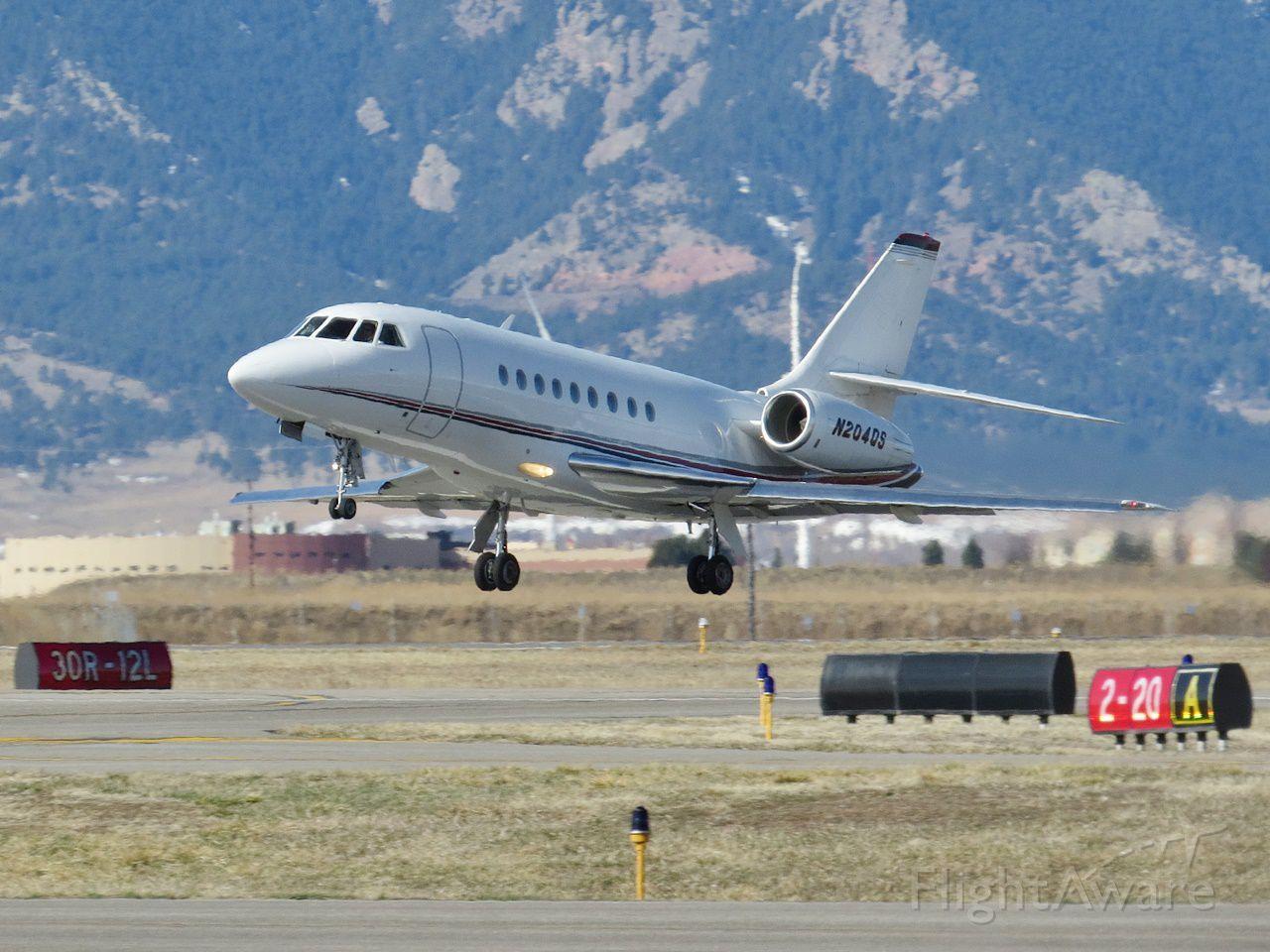 Dassault Falcon 2000 (N204QS)