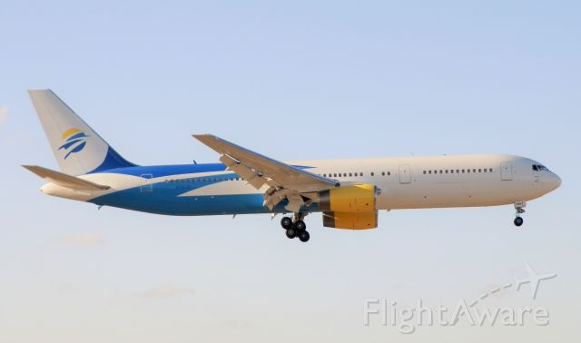 """BOEING 767-300 (N796JM) - A Swift Air 767-300 Powered By Two Rolls Royce RB21-524H-36 Engines""""Landing late afternoon"""