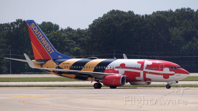 Boeing 737-700 (N214WN) - Maryland One