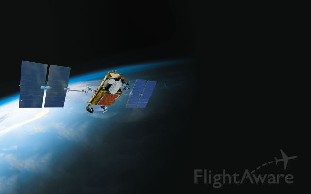 — — - Iridium NEXT Satellite with Aireon ADS-B receiver, see a rel=nofollow href=http://flightaware.com/aireon/http://flightaware.com/aireon//a for more about FlightAware and Aireons partnership to provide global, space-based ADS-B flight tracking