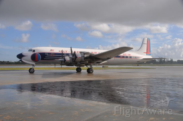 Douglas DC-7 (N836D) - AUGUST 27 2010 AT OPA-LOCKA