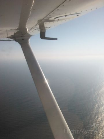 Cessna Skyhawk (N9616L) - Flying over the south shore of Long Island.