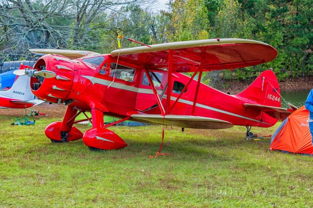 WACO O (N15244) - 2020 Flying M Ranch Fly-In in Reklaw, Texas.