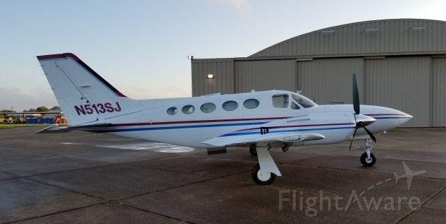 Cessna 421 (N513SJ)
