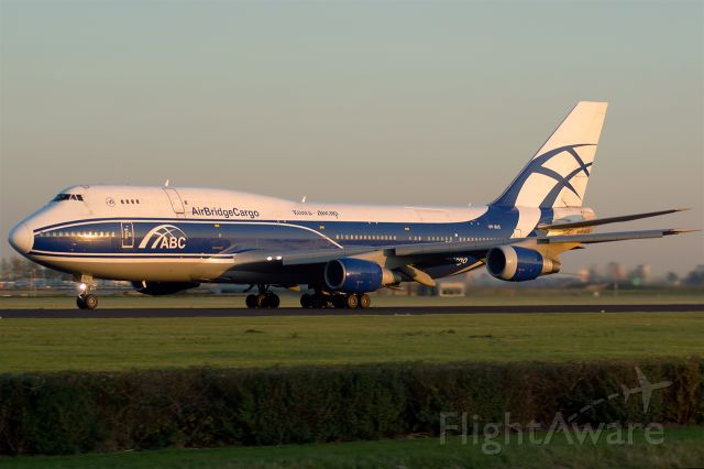 BOEING 747-300 (VP-BIC) - Air Bridge Cargo