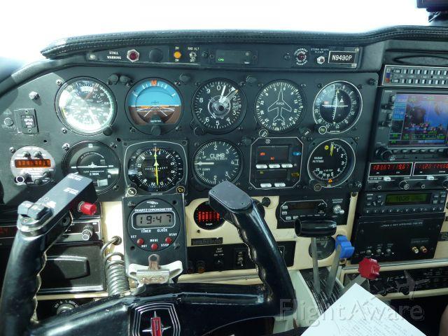 Piper PA-24 Comanche (N9490P) - Over Norfolk