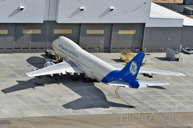 BOEING 747-100 (N747GE) - GE engine test bed