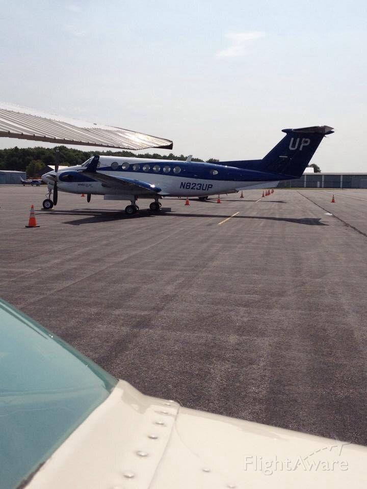 Beechcraft Super King Air 350 (N823UP)
