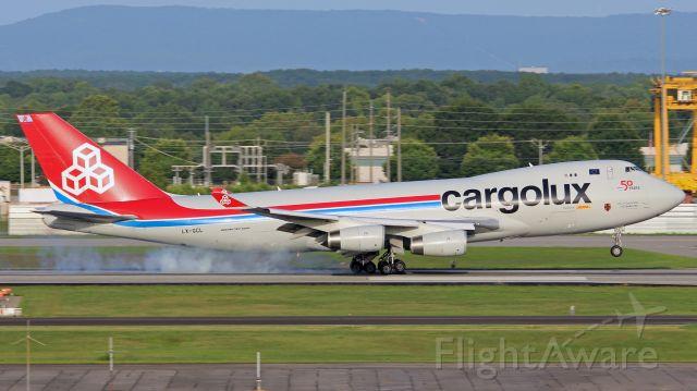 Boeing 747-400 (LX-GCL)