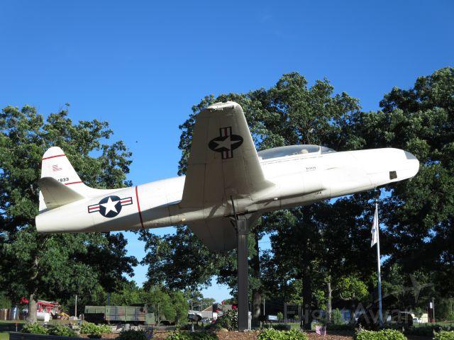 Lockheed T-33 Shooting Star (12-4933) - Lockheed TOV-1 Seastar, only one left!