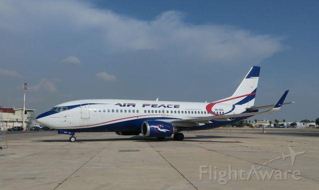 Boeing 737-700 (5N-BQO)