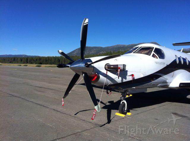 Pilatus PC-12 (N948MR) - Nice upgrade! MT prop