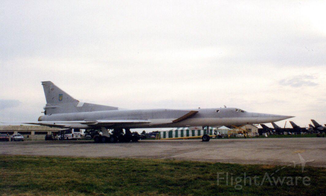 Tupolev Tu-22 (N20106726) - Backfire  Ukrainian Air Force, The Royal International Air Tattoo 1998, RAF Fairford,England