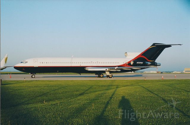 BOEING 727-200 (N727NK) - Operated on behalf of Miami Heat BB team.