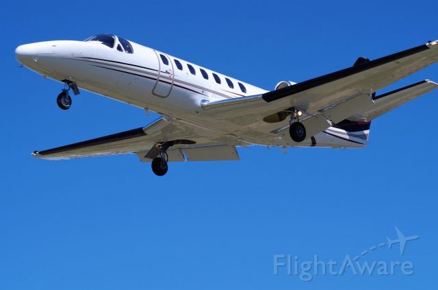 Cessna Citation V (N387A) - Short Final 17R at KPWA 03-APR-2016