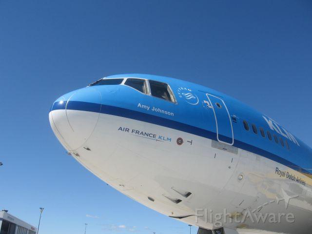 "Boeing MD-11 (PH-KCA) - 2013 Toronto Pearson Street Festival.  ""Amy Johnson"""