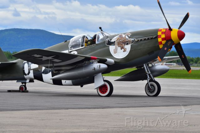 North American P-51 Mustang (32-4823)