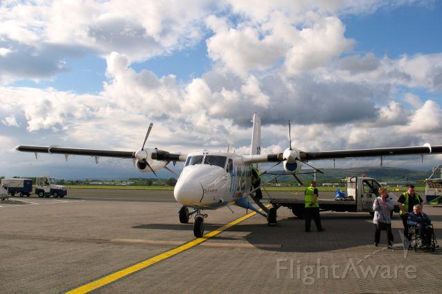 De Havilland Canada Twin Otter (G-BVVK) - Flybe De Havilland Canada DHC-6-300 Twin Otter G-BVVK in Glasgow International Airport