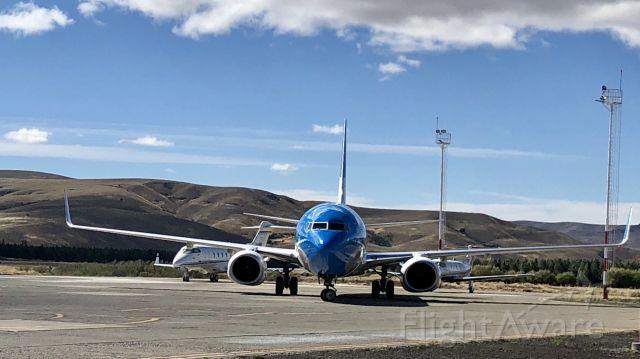 Boeing 737-700 (LV-GGQ) - Tegular flight Ar1615 SAZY-SABE