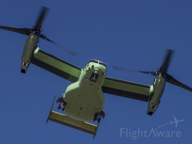 Bell V-22 Osprey (16-8302) - HMX-1 Presidential V-22 during flight testing in Amarillo.