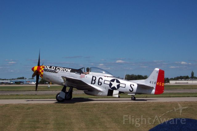 North American P-51 Mustang — - EAA 2005 P-51D Old Crow.