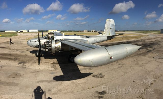 """ON MARK Marksman (N4988N) - Special Kay, the only airworthy A26 """"K"""" model.(On Mark Engineering)"""