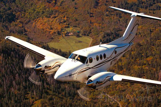 N77PV — - Blackhawk King Air F90xp over Pagosa Springs Colorado