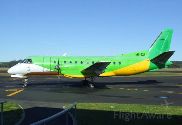 Saab 340 (VH-ZXS) - Untitled NOK Mini Saab 340B VH-ZXS (340B-179) on 7 July 2015 at Burnie Wynyard Airport Tasmania. Went back to Adelaide the following day after this photo was taken.