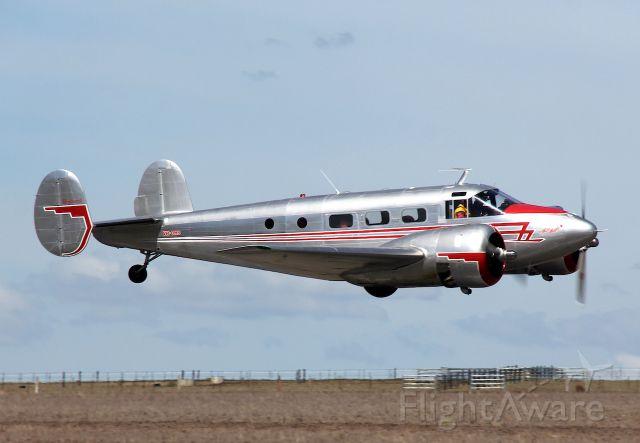Beechcraft 18 (VH-BHS) - Manufactured in 1952, USAbr /Photo: 25.03.2018