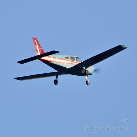 Piper Cherokee (N404DS) - Buzzing the Jersey Shore southbound