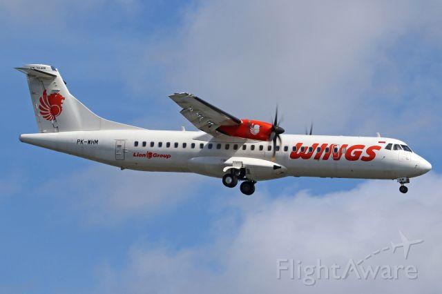 Aerospatiale ATR-72-600 (PK-WHM)