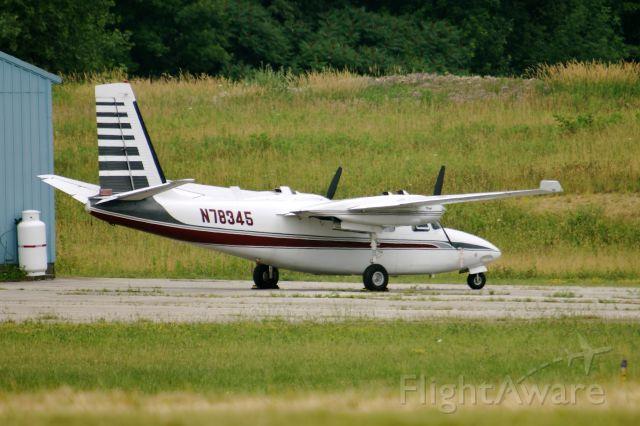 Aero Commander 500 (N78345)