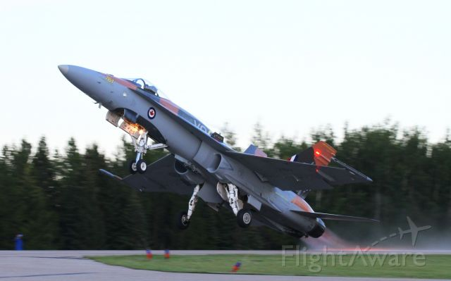McDonnell Douglas FA-18 Hornet (18-8761) - Rocky Mountain House Alberta